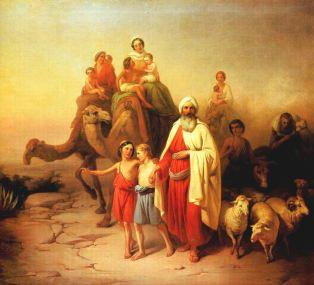 molnar_abraham_kikoltozese_1850