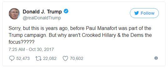 trump tweet manaffort