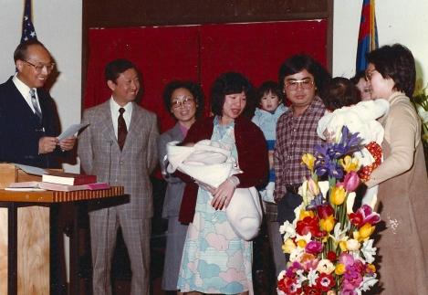 Baby Dedication Pastor Wing 2