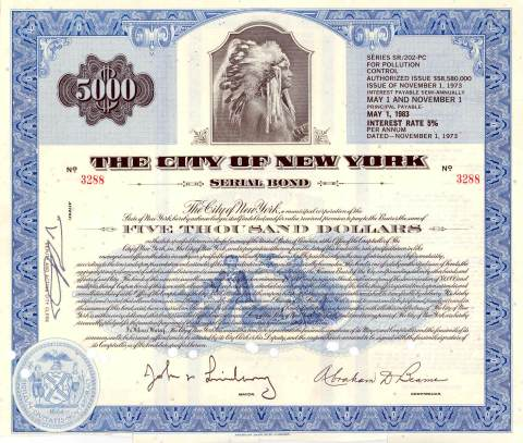 city-of-new-york-5000-serial-bond-indian-chief-vignette-26
