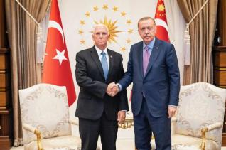 Pence-Pompeo-meet-with-Erdogan-to-discuss-Turkish-invasion-of-Syria